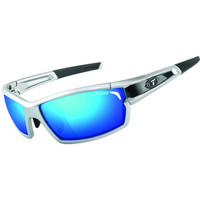 Tifosi Escalate FH Glasses Herren silver/black - clarion blue/ac red/clear
